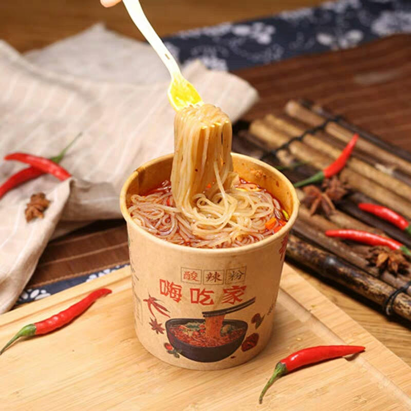wholesale instant rice noodles hot and sour rice noodle rice vermicelli haichijia
