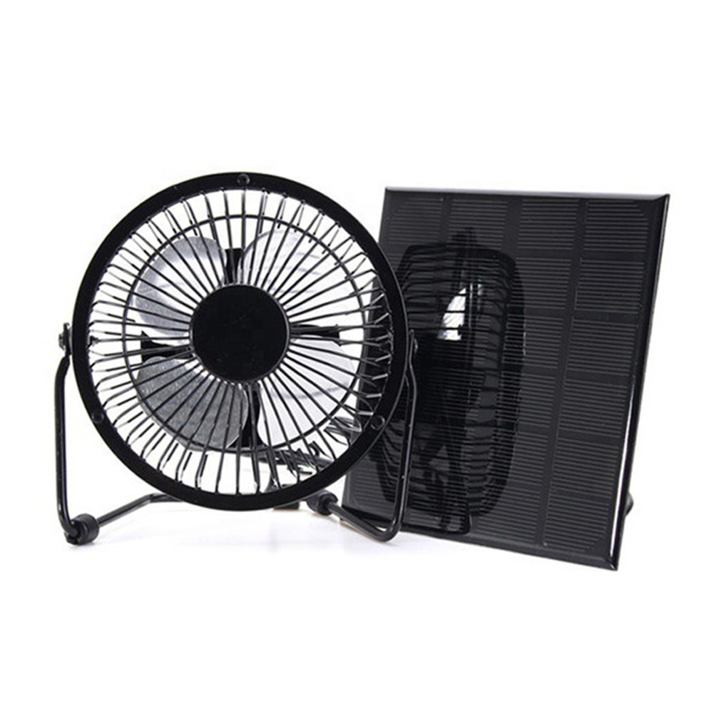 4/6/<strong>8</strong> Inch USB Solar Panel Powered Fan <strong>Portable</strong> for Outdoor Home Cooling <strong>Ventilation</strong>