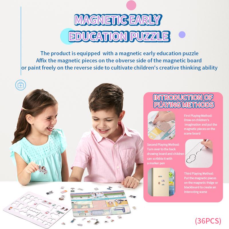 Light IC Pretend Play Ambulance Kit Set Medical Doctor Toys For Kids