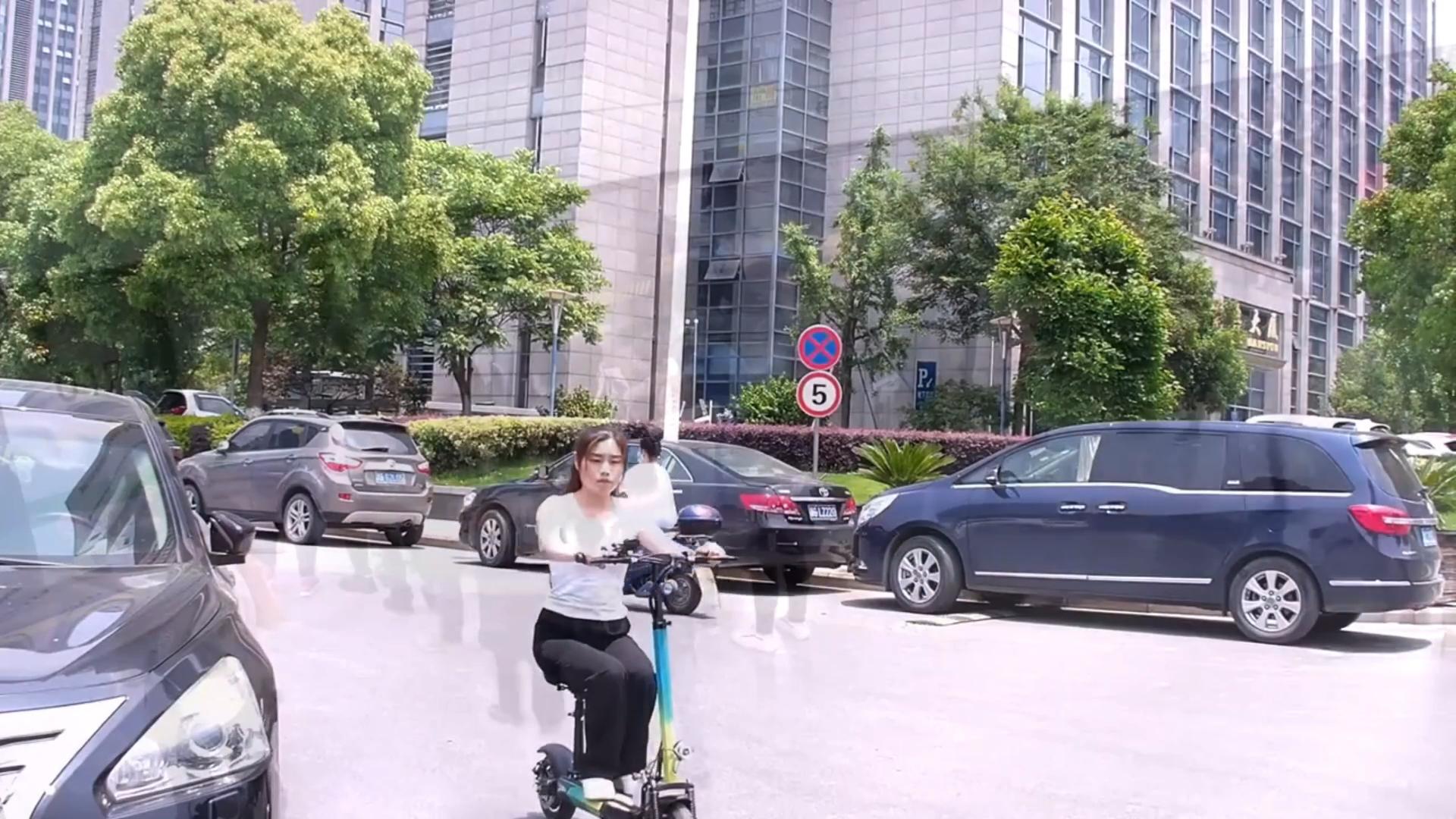 500watt tricicleta electrica foldable e scooter
