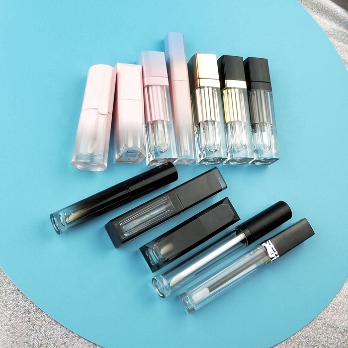 Private label flüssigkeit lippenstift lipgloss verpackung leere lipgloss rohr