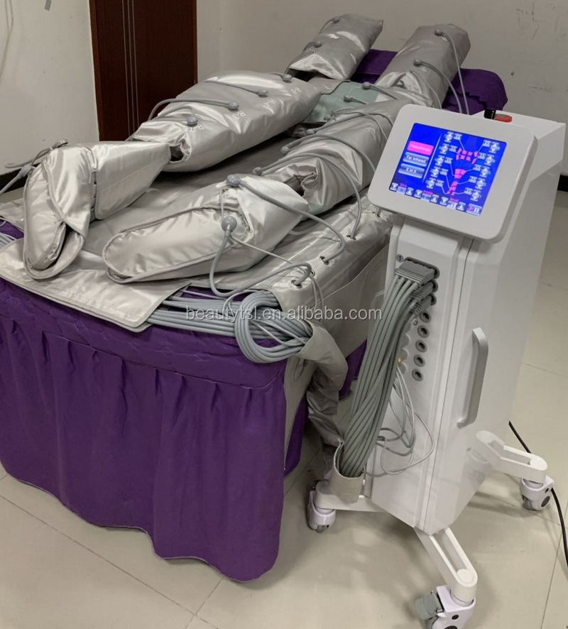 TSL-1120C 3 in 1 with EMS far infrared pressotherapy slim beauty equipment pressotherapy infrared thermotherapy cellulite machine 7.jpg