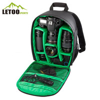 Custom LOGO Photographer Video Travel Camera Bag Backpack