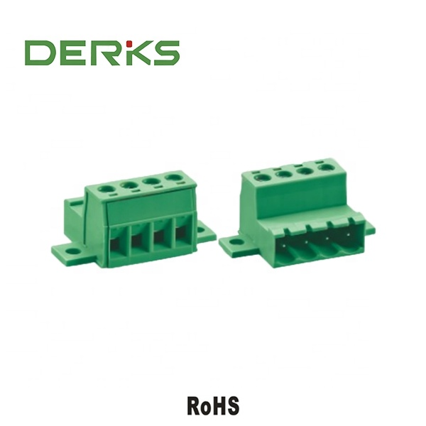 5.08 Pitch YE390-508 Euro Blok Connector PCB Terminal Elektrische Kabel Connector pcb Terminal Block