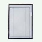dual handle aluminum wide blade window blinds for buildings