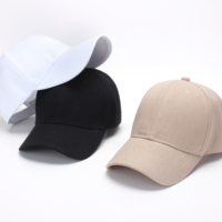 OEM custom 6-panel foldable fitted hat plain baseball cap Applique Embroidery cap, 3D embroidery cap