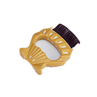 Pet Cleaning Slicker Shell Comb Gently Removes Loose Undercoat Your Dog and Cat Will Love Being Brushed with The Grooming Brush