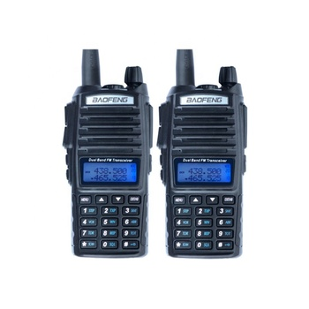 HOT selling 8W dual band portable handheld two way radio baofeng uv 82