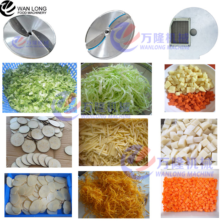 Wanlong bán đa chức năng Rau máy dicing/máy cắt rau