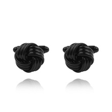 Cufflink manufacturer wholesale custom blank knot cufflinks