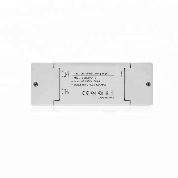 ZLL domotique bord de fuite triac gradation led gradateur zigbee triac dimmable