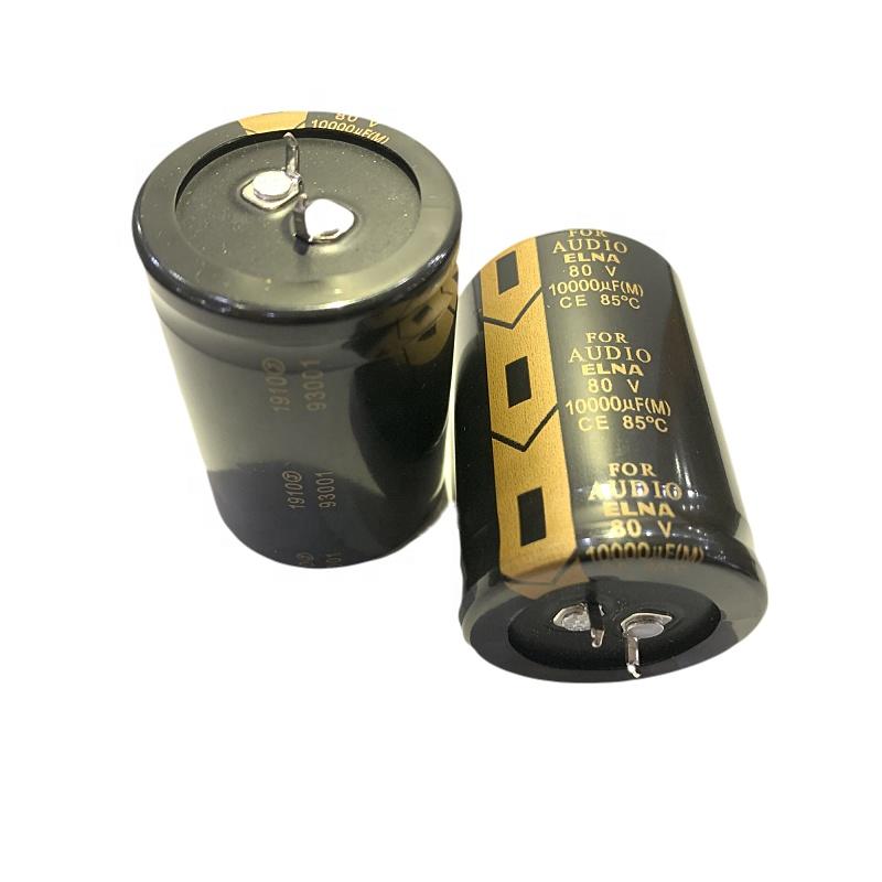 Leaded 1000uF 80 Volt 5 Aluminum Electrolytic Capacitors