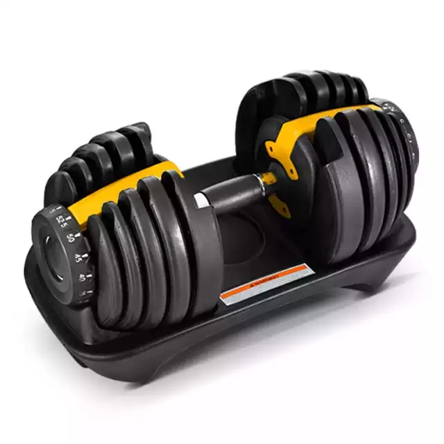 Gym workout man power <strong>weight</strong> lifting training automatic adjustable dumbbell 40kg 90lbs cheap