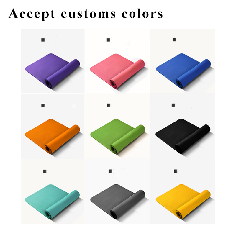 185*65cm wide 6/8mm Foam Flooring Ripstop EVA/PU/XPE/TPE Eco-friendly Resistance Exercise Extra Thick yoga mat