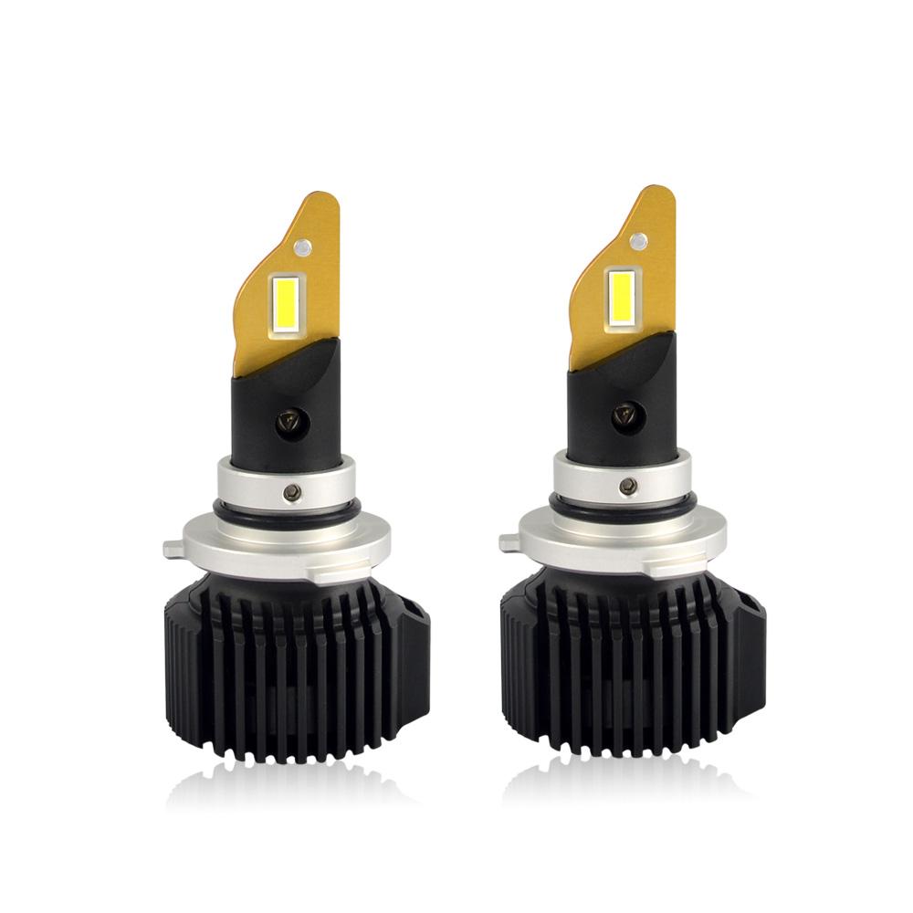 Best quality ETI 7535 chips 6000k h7 H1 H11 9005 led car bulb for BEST car
