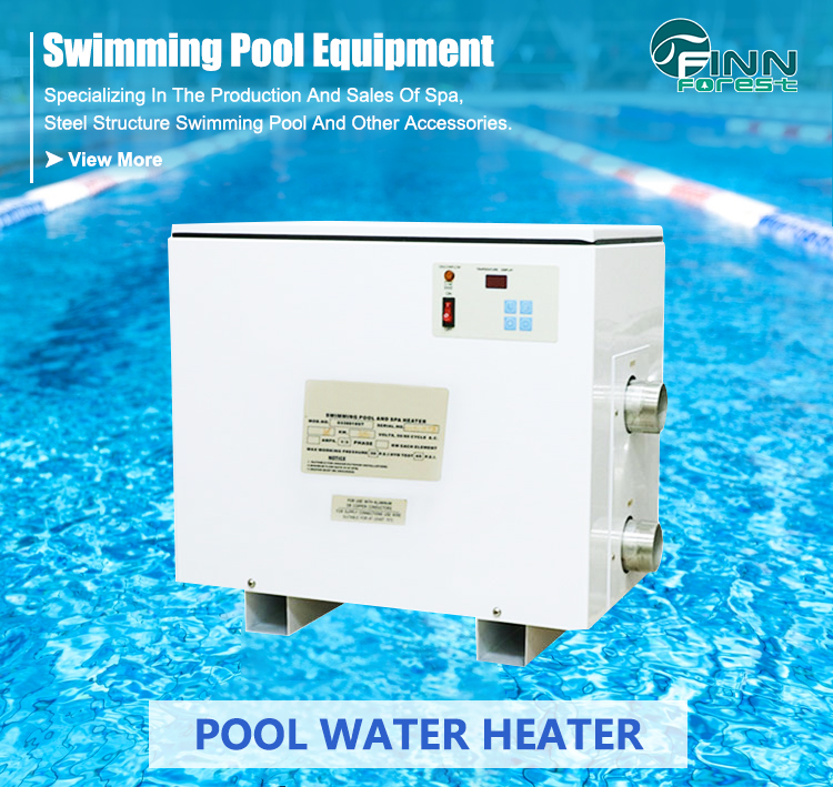 OEM ODM Portable Electric Outdoor 380V Swimming Pool Heater 100KW