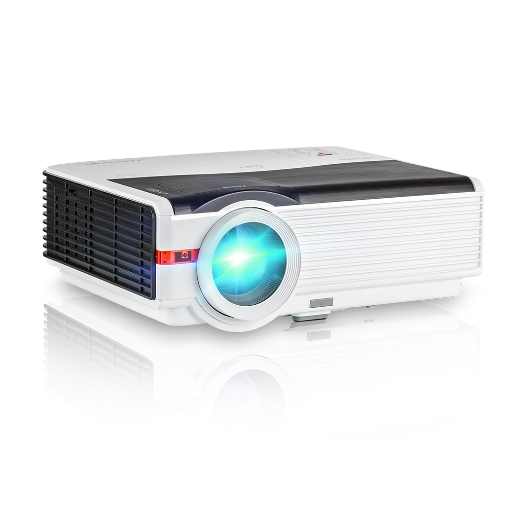 Best 5000 Lumens Android Bluetooth Wifi Wireless LCD LED Projector 1080P Home theater overhead Projector фото