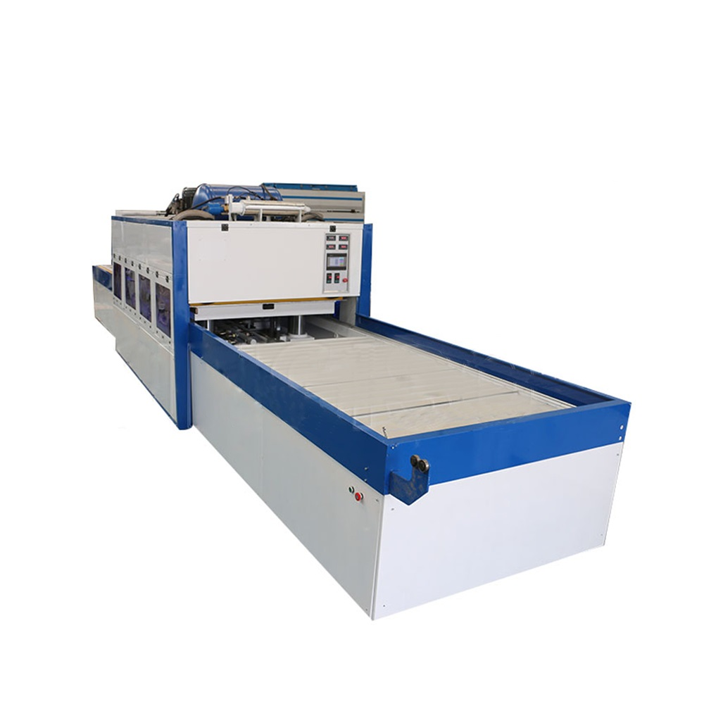 Positive and negative membrane press machine veneer laminate machine for doors