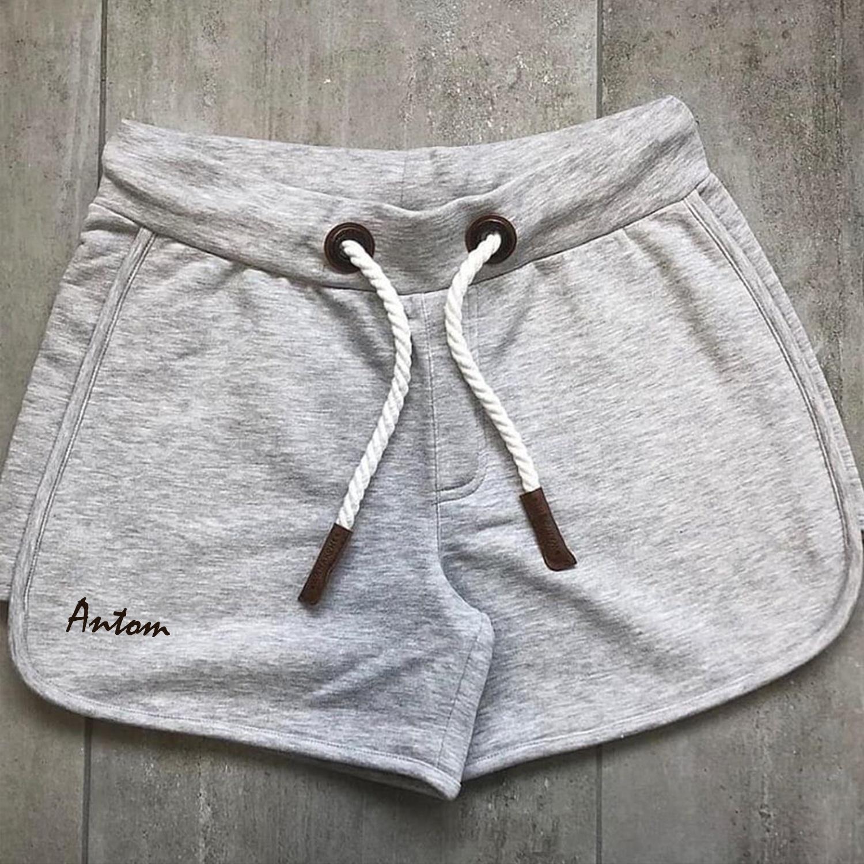 Jmwss QD Shorts Cotton Plaid Drop Crotch Mens Summer Shorts 2 L
