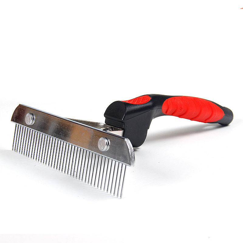 Dog grooming brush easy clean pet comb pet grooming brush for short hair dog and cat