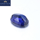 Loose Gemstone Blue Sapphire Beads Pear Oval Sapphire