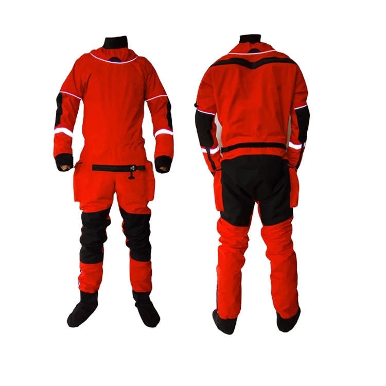 High Quality Professional Waterproof 3-layer Fabric Water Rescue Drysuit - KingCare | KingCare.net