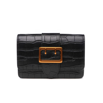 Xiaoniu Best Seller Products Vegan Leather Black Bag Clutch