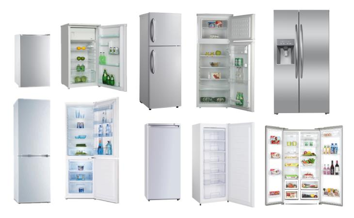 50L Home Appliance and Hotel Use Compressor Built In Freezer Refrigerator Single Door Double Door Mini Fridge