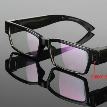QZT 720P hd hidden Camera Glasses 30fps Eyewear safety spy glasses with camera