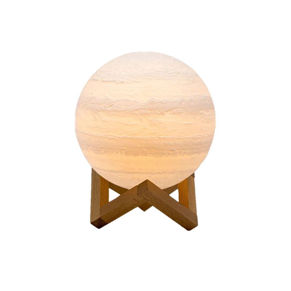 16 <strong>Color</strong> 3 D Jupiter Night <strong>light</strong> USB charge LED Moon lamp for Home decor