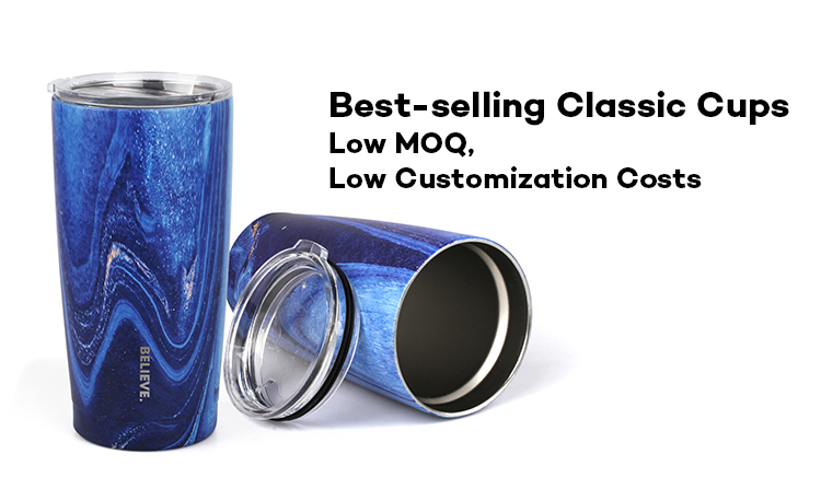 High Quality 20oz Vacuum Insulated Coffee Travel Mug Tumbler Cups with Lid