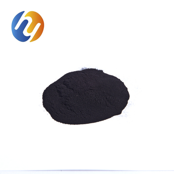 Dyeing black powder of cotton fabric with high dyeing degree and reactive cotton dyes