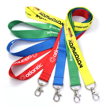 No Minimum Order Manufacturer Cheap Personalized Neck Tool Printing Polyester Sublimation Custom Lanyards With Logo Custom