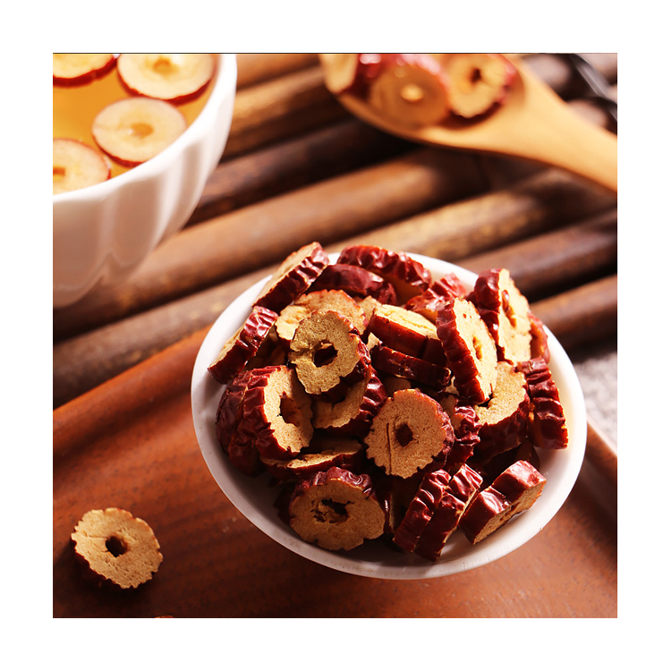 Factory Manufacturer Supplier Dried Red Jujube Fruit Snack Chinese Dried Red Dates Slices - 4uTea | 4uTea.com