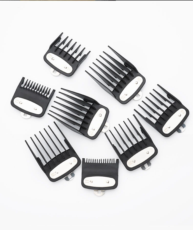 8pcs Set Hair Clipper Accessories Universal Hair Clipper Trimmer attachment Limit Guide Comb Set
