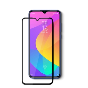 Amazon hot sale full cover flat tempered glass screen protector For Xiaomi Mi cc9