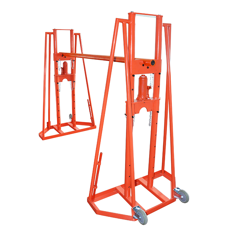 SBT-10 Adjustable Hydraulic Cable Drum Stand