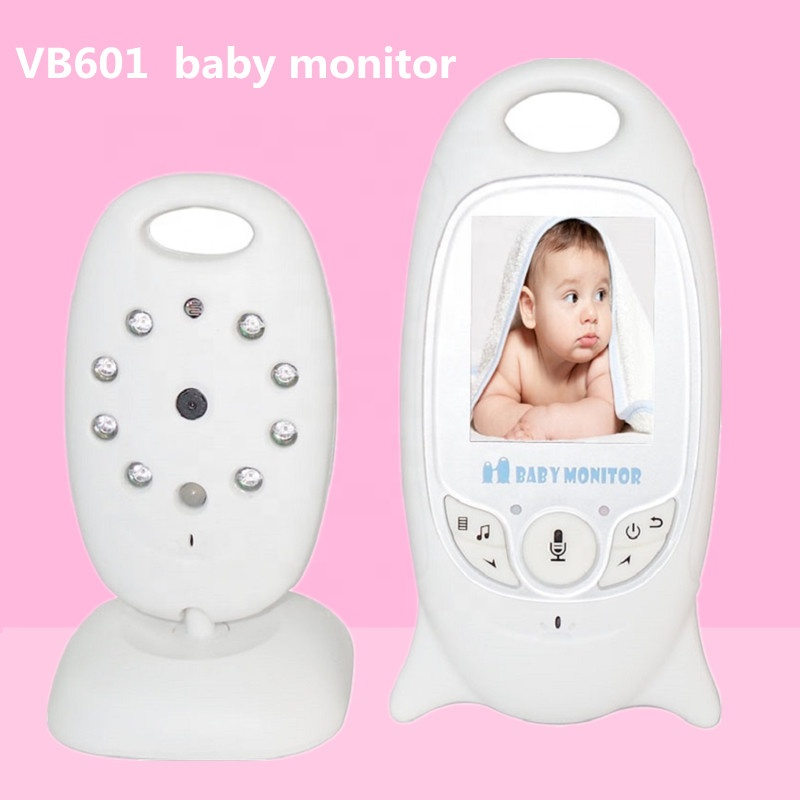 Factory Price video vb601 baby monitor 2.0 inch with night vision two-way talk lcd display temperature monitoring for baby sleep