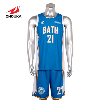 Cheap hot sale retail men sportswear sublimated basketball jersey