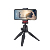 Sunrise Plastic 180 Degree Rotation Pocket Mini Portable Phone Tripod with Quick Release Plate