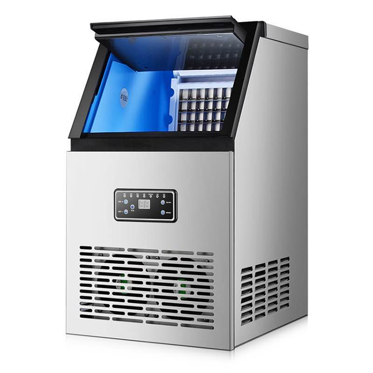 Commercial Ice Maker Auto Clear Cube Ice Making Machine Suitable for Home or Hotel