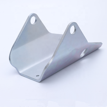high quality custom OEM zinc plating 15mm thick stamped punching bending parts