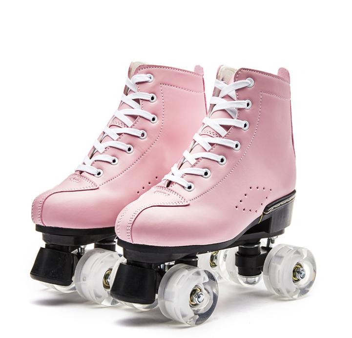 Inline סקייט ילד בחוץ נעל אבזם מבוגרים רולר סקייט PU גלגלים עם מהבהב thcikened אלומיניום סגסוגת סוגריים