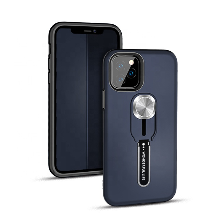SAIBORO Commercio All'ingrosso Custom Design pc tpu army anello di barretta magnetica del supporto dell'automobile del telefono per il caso di iphone 11