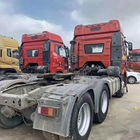 Price Faw 2018 Tractor Truck 390hp 12 Wheel 6x4 Drive Low Weight Wheel Trailer Head Cheap Price For Sale