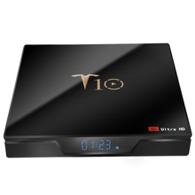 T10 Android tv box 9,0 1 г + 8 г Amlogic S905W умные телевизоры коробка android