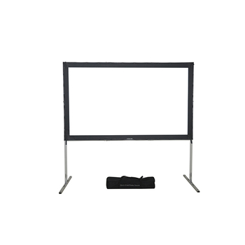 Fast fold projector screen with patented unique hidden locking mechanism