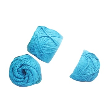 Cheap 100% cotton yarn crochet dyed yarn cotton