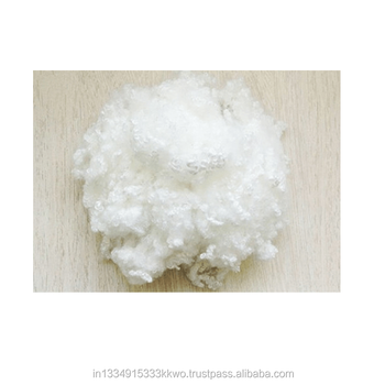 polyester staple fiber 15D Hollow conjugated non silicon for padding