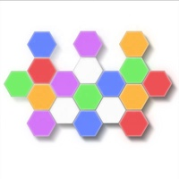 Quantum Lamp LED Hexagonal Lamps Modular Colourful Touch Sensitive Smart Lighting Touched Night Light